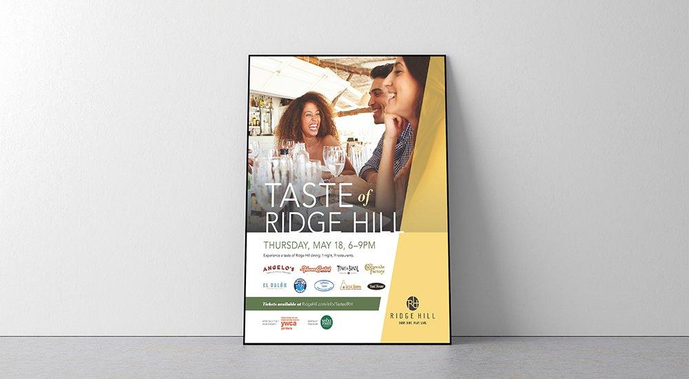 Taste of Ridge Hill poster