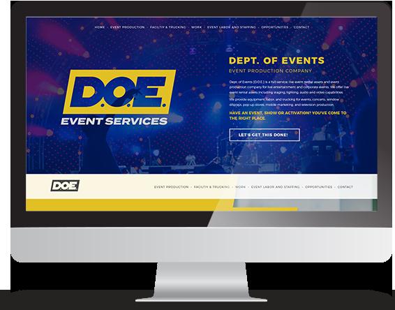 Custom Designed Website Project