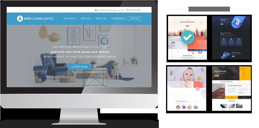 Template Based Websites