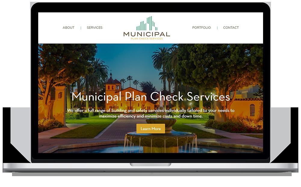 Municipal Web Mockup