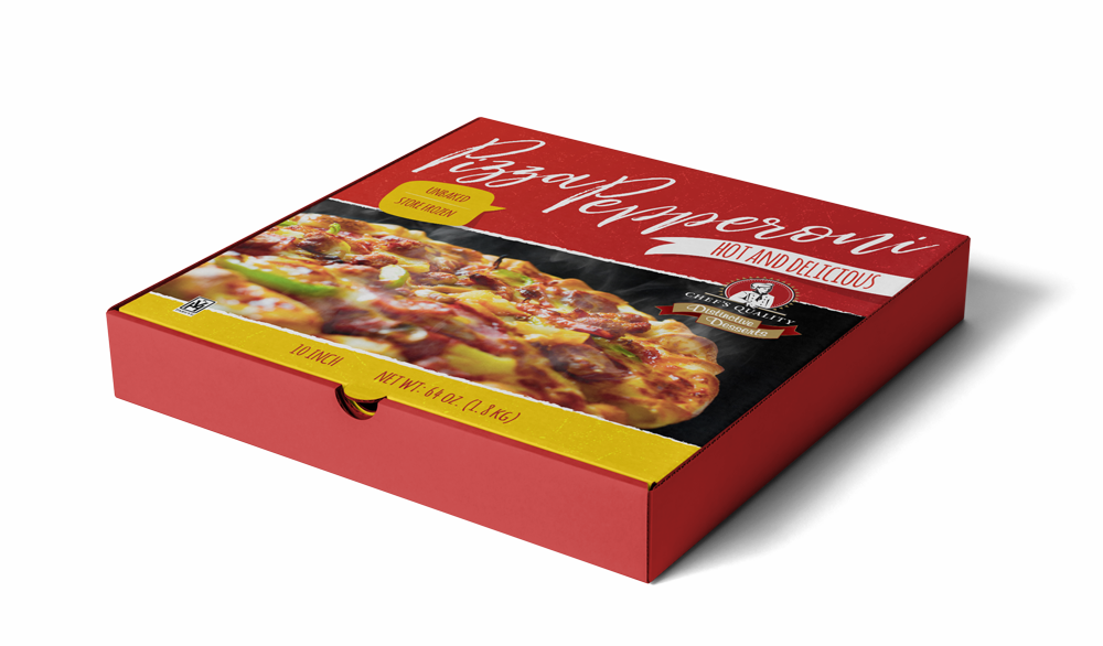 Packaging 2 Graphic Mockup