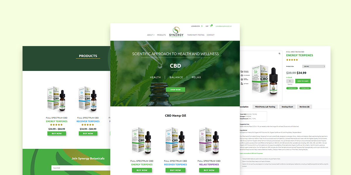 Synergy eCommerce Image Slider