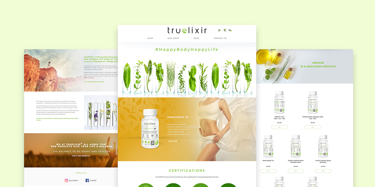 Truelixir eCommerce Image Slider