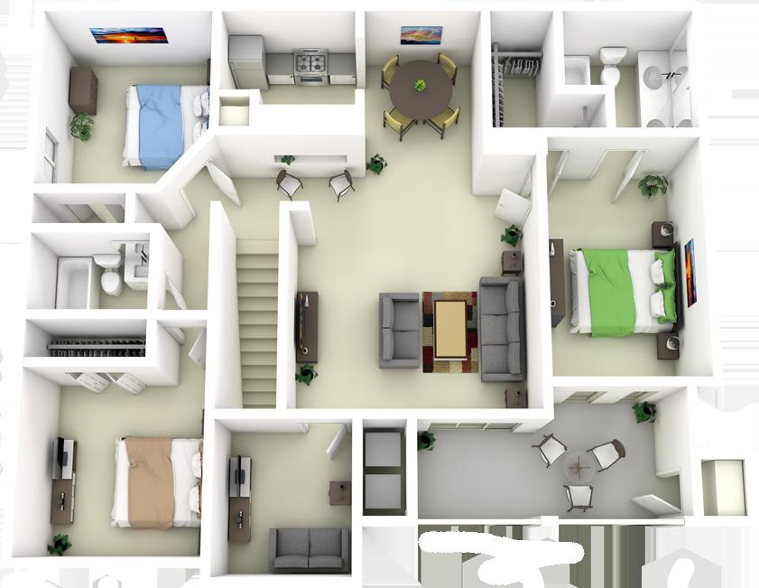 3D Floor Map