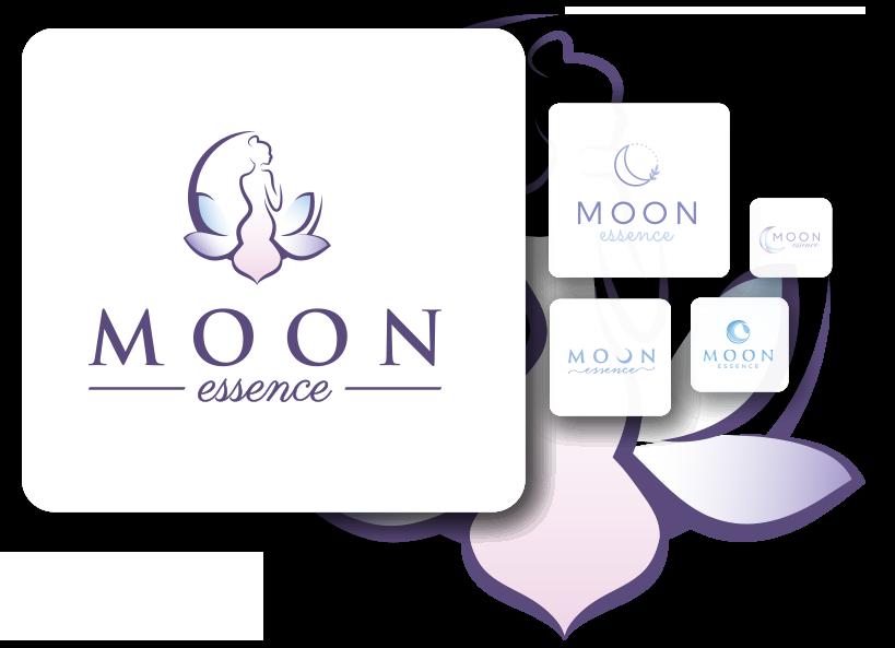 Elegant logo design for beauty company
